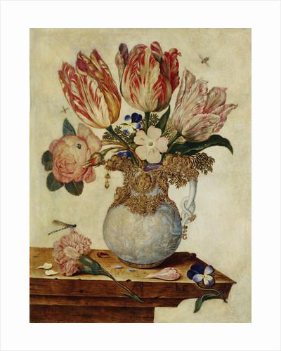 Floral Still Life by Jan Baptist van Fornenburgh