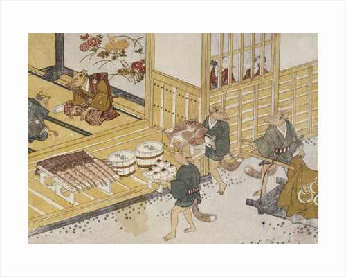 Kitsune no Yomeiri - The Fox's Wedding Series Print by Tachibana Minko