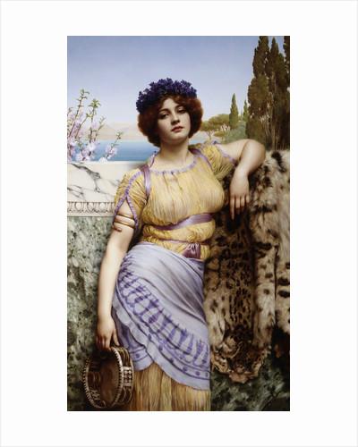 Ionian Dancing Girl by John William Godward