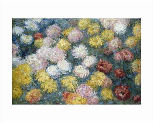 Chrysanthemums (1897) by Claude Monet