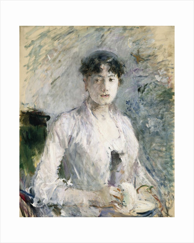 Young Woman in Mauve by Berthe Morisot