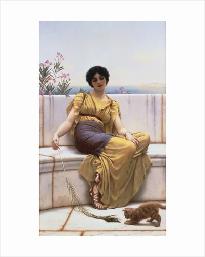 Idleness by John William Godward