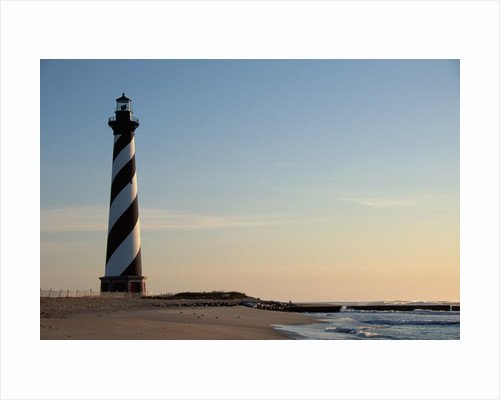 Cape Hatteras Lighthouse at Sunrise by Corbis