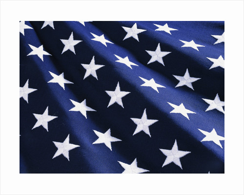 Stars on American Flag by Corbis