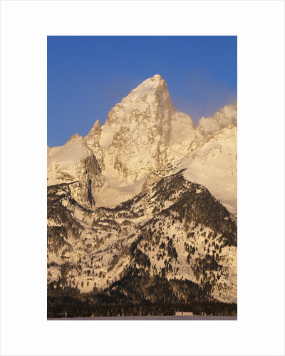 Grand Teton in Grand Teton National Park by Corbis