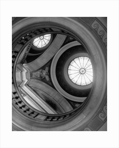 Interior of Essex County Courthouse Rotunda by Corbis