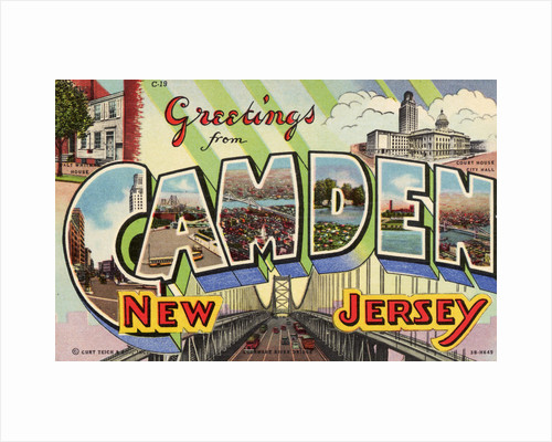 Greeting Card from Camden, New Jersey by Corbis