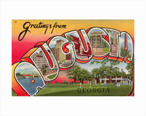 Greeting Card from Augusta, Georgia by Corbis