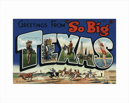 Greeting Card from Texas by Corbis