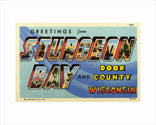 Greeting Card from Door County, Wisconsin by Corbis