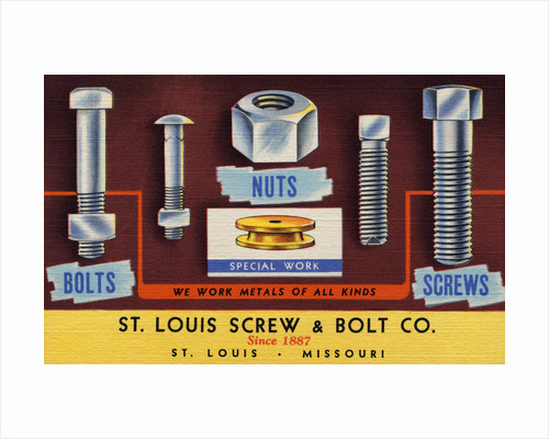 Advertisement for Nuts and Bolts by Corbis