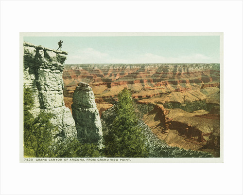 Grand Canyon of Arizona, from Grand View Point Postcard by Corbis