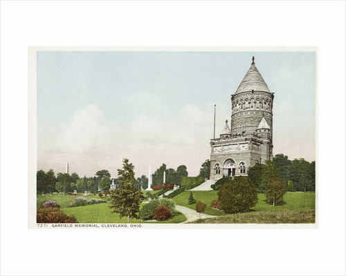 Garfield Memorial, Cleveland, Ohio Postcard by Corbis