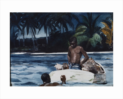 West Indian Divers by Corbis