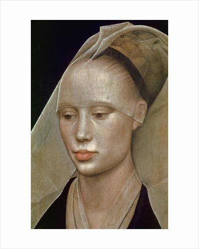 Detail of Portrait of a Lady by Rogier van der Weyden