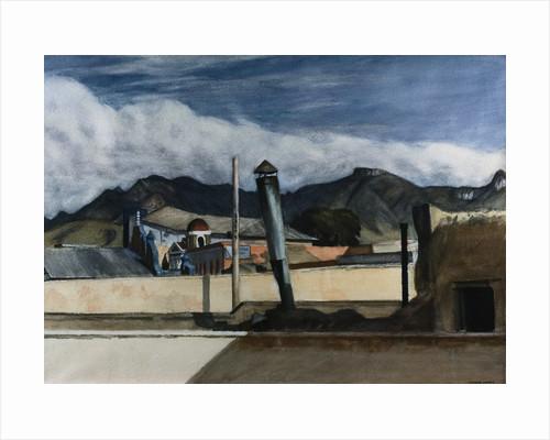 Saltillo Rooftops by Edward Hopper