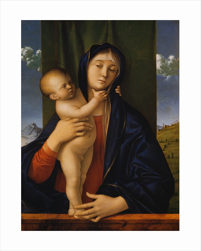 Madonna with the Child by Giovanni Bellini