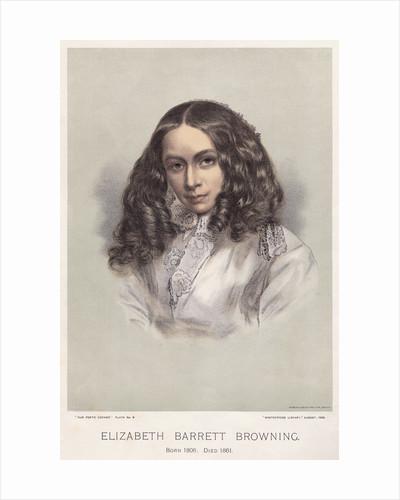 Portrait of Elizabeth Barrett Browning by Corbis