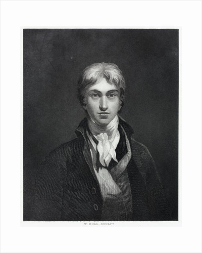 Engraving by W. Holl after Self-Portrait by Joseph Mallord William Turner