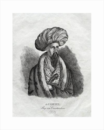 Achmet, Bey von Constantine Illustration by Corbis