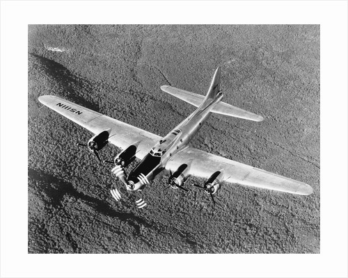 B-17 Flying Fortress in Flight by Corbis