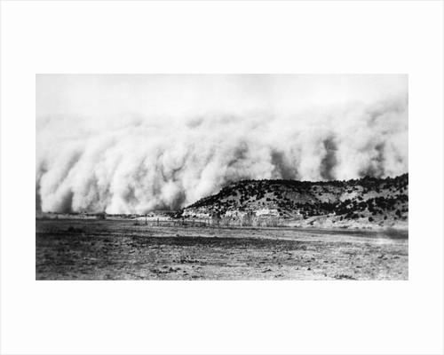 Dust Storm in Texas Panhandle by Corbis