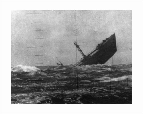 Japanese Ship Sinking by Corbis