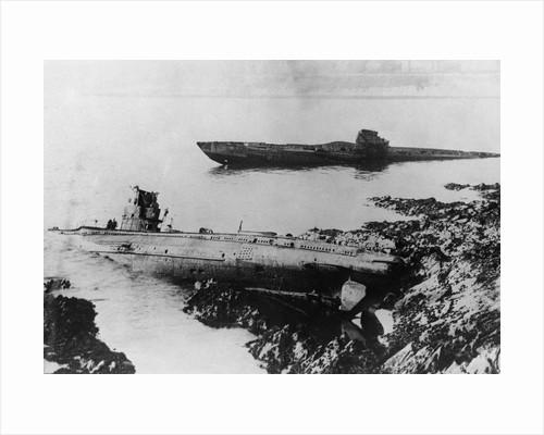 U-Boats Washed on Cornish Coast by Corbis