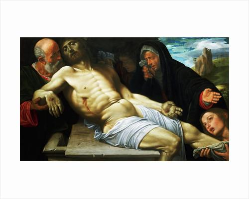 The Lamentation of Christ by Giovanni Girolamo Savoldo