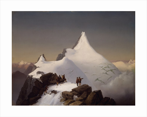 Mountain Scene by Marcus Pernhart
