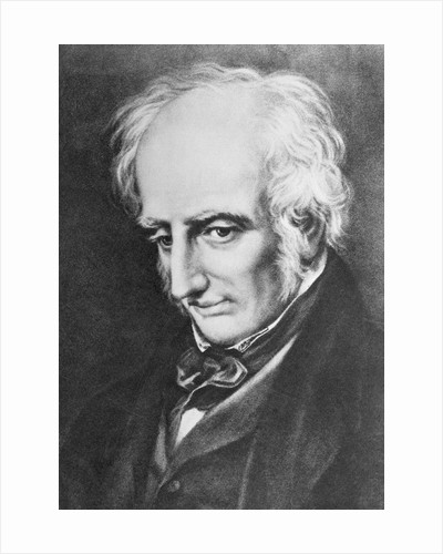 Print of William Wordsworth by Corbis