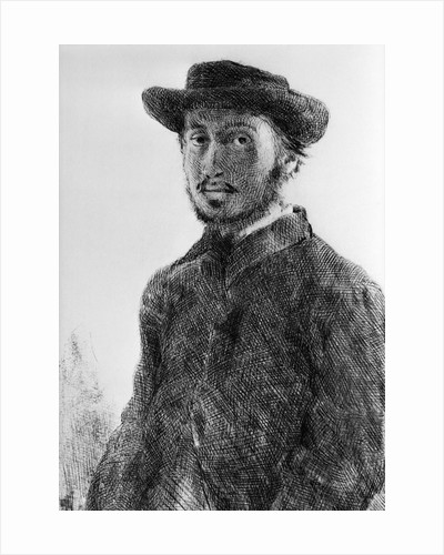 Self-Portrait of Impressionist Painter Edgar Degas by Corbis