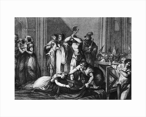 The Execution of Mary, Queen of Scots by Corbis