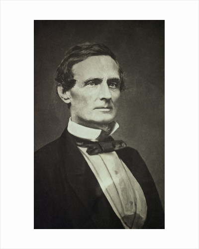 Confederate States President Jefferson Davis as Young Man by Corbis