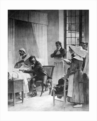 Medical Students Observing Doctor by Corbis