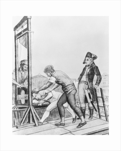 Execution of Robespierre by Corbis