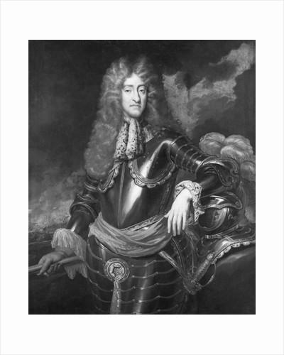 Half-Length Portrait of James II by Corbis