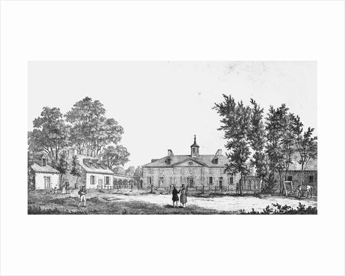 Exterior of George Washington's Estate by Corbis