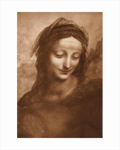 Portrait of St. Anne by Leonardo da Vinci