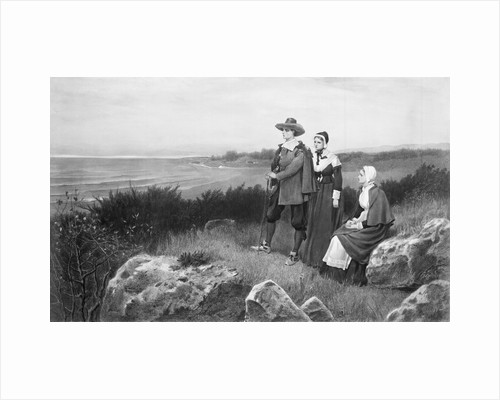 Family in Puritan Clothing by Corbis