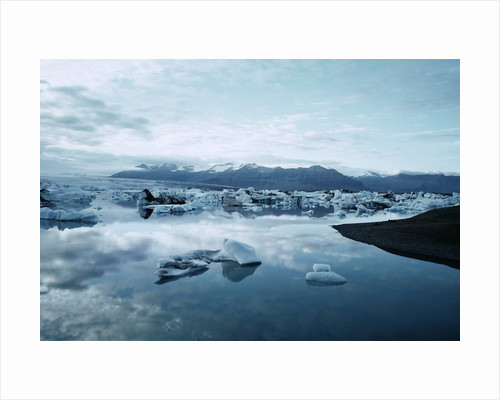 Bergy Bits Near Pack Ice by Corbis