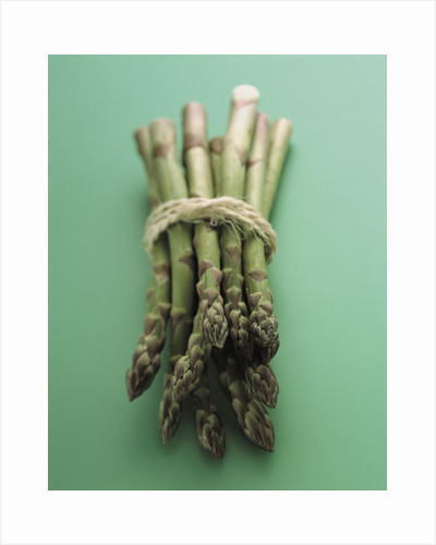 Bunch of Asparagus by Corbis
