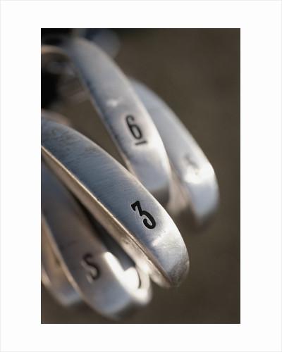 Golf Clubs by Corbis