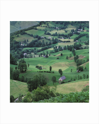 Aerial View of Countryside by Corbis