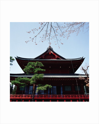 Exterior of an Asian building by Corbis