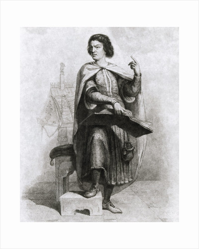 Peter Abelard with Book by Corbis