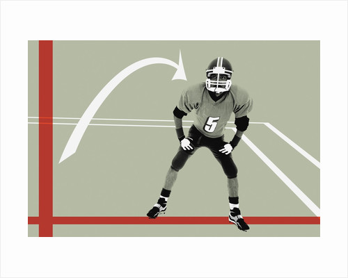 Football instructions by Corbis