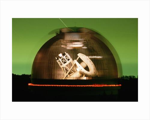 Hale Telescope Inside Palomar Observatory by Corbis