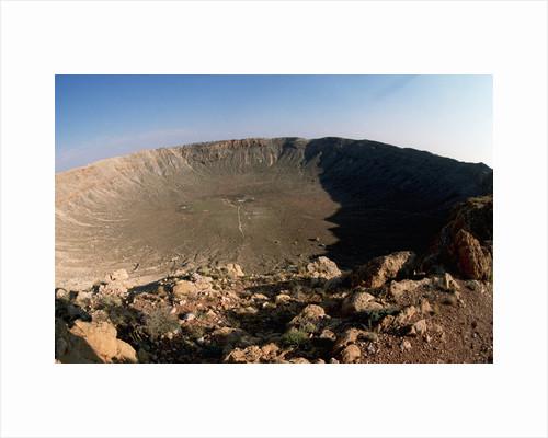 Arizona Meteor Crater by Corbis