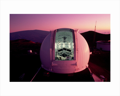 Keck Telescope at Twilight by Corbis